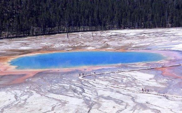 El súper volcán del Parque Yellowstone