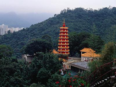 El monasterio de los 10.000 Budas de oro Bn31_69
