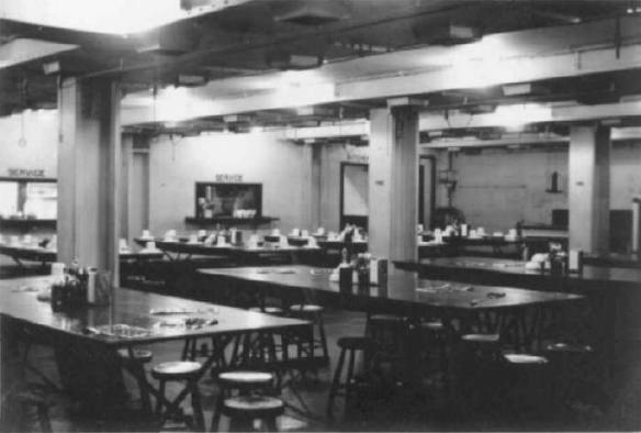 Engine Room-Mess Hall