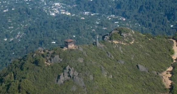 Mt. Tam from the air 1111