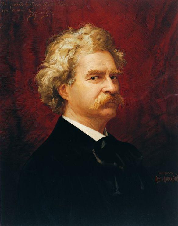 El hoax petrificado de Mark Twain Marktwain1